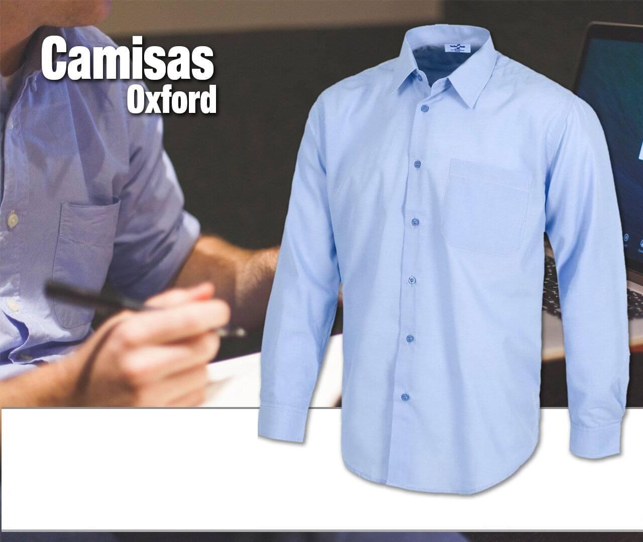 CAMISAS OXFORD PARA UNIFORMES - Camisas Oxford para Empresas